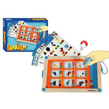 【華森葳兒童教玩具】益智邏輯系列-邏輯板 K2-B21005