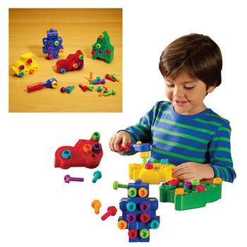 【華森葳兒童教玩具】益智邏輯系列-設計師螺絲釘 N1-EI-4119