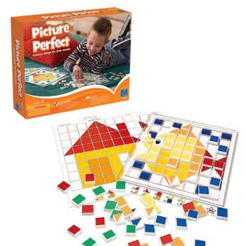 【華森葳兒童教玩具】益智邏輯系列-馬賽克拼板 N1-EI-1723