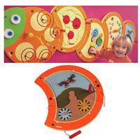 【華森葳兒童教玩具】益智邏輯系列-技能毛毛蟲-磁力訓練 K2-23632