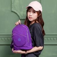 COUNT DUCK美系悠活輕量愛心輕旅後背包(兒童款)-CD-019紫色