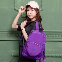 COUNT DUCK美系悠活輕量愛心輕旅後背包(大人款)-CD-018紫色