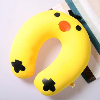 魔法Baby ~ 可愛卡通立體造型健康護頸枕/午睡枕_小雞~c0044