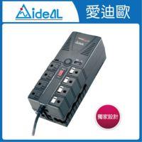愛迪歐IDEAL PS-1000 延長線3孔8座設計
