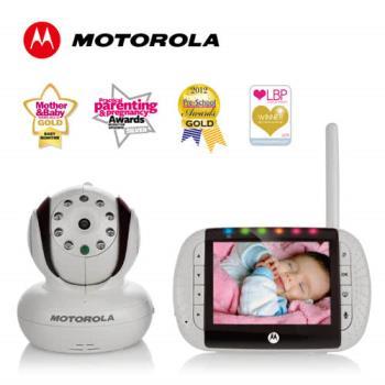 Motorola 數位影像高解析嬰兒監視器-MBP36