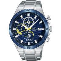 ALBA ACTIVE 活力玩酷型男計時腕錶-藍/44mm VD57-X080B(AM3339X1)