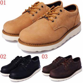 (預購)pathfinder款2248春季男士復古潮流大頭工裝鞋PF真皮時尚低幫休閒鞋(JHS杰恆社)
