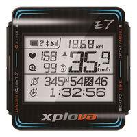 Xplova E7 約騎神器 智慧型車錶 - 黑
