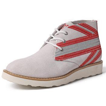 (預購)pathfinder款861A春季新款歐美潮流女式高幫休閒鞋PF國旗刺繡工裝鞋(JHS杰恆社)