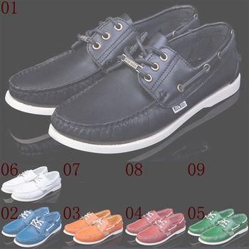 (預購)pathfinder款619男士美式潮流縫線帆船鞋PF真皮時尚舒適低幫休閑板鞋(JHS杰恆社)