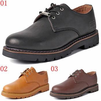(預購)pathfinder款3044春季時尚大頭真皮馬丁工裝鞋PF復古潮流女士低幫皮鞋(JHS杰恆社)