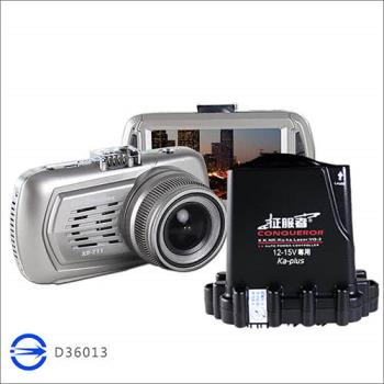征服者-雷達眼 XR-711 WIFI 全頻雷達測速+高畫質行車紀錄器