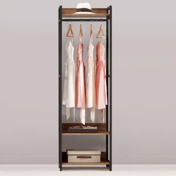 Bernice-諾德2尺開放式單吊衣櫃