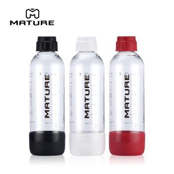 美國Drinkmate 氣泡水機專用水瓶1L -四色可選