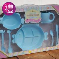 【Cornflower玉米花】海洋派對玉米餐具-快樂海洋禮盒(7入)