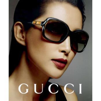 GUCCI-李冰冰代言-竹節太陽眼鏡(黑色)