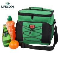 【LIFECODE】歐風保冰袋/保溫袋 /保冷袋 (15L) - 綠色