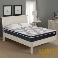 【絲麗翠-3S浩克耐用】加大6尺硬式獨立筒床墊
