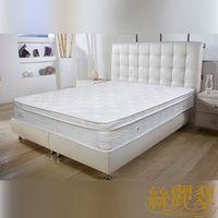 【絲麗翠-3S彈力棉感】雙人5尺獨立筒床墊