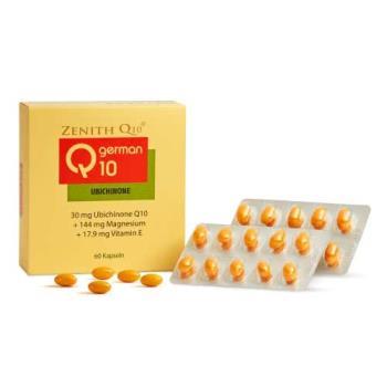 Q10頂級Zenith常青十倍素膠囊 添加維生素E、氧化鎂 / 60粒