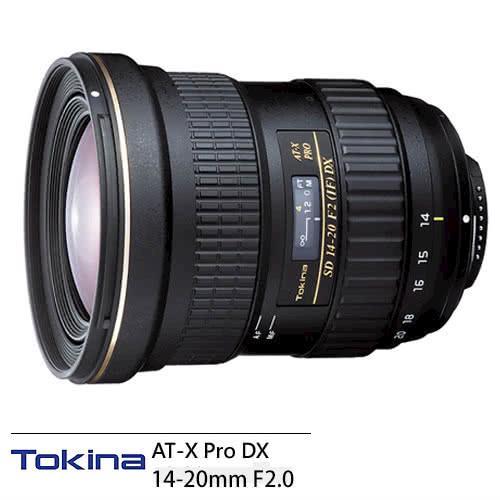Tokina AT-X Pro DX 14-20mm F2.0 鏡頭 (14-20,公司貨)