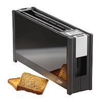 (德國原裝)ritter volcano 5 晶湛強化玻璃烤麵包機 湛黑