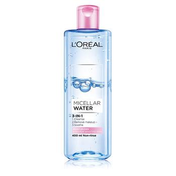 LOREAL Paris 巴黎萊雅 三合一卸妝潔顏水-保濕型 400ml
