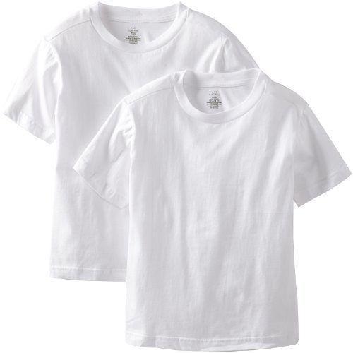 【CK】2016男孩學生純棉白色圓領短袖內衣2件組(S-L)(預購)
