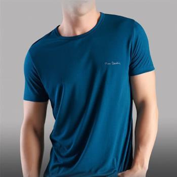 Pierre Cardin 3件組台灣製木醣醇涼感短袖圓領衫(隨機取色) PS730