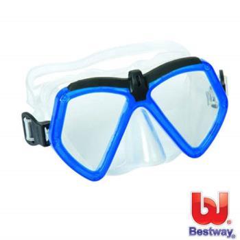 【BESTWAY】繽紛潛水鏡 (藍色)