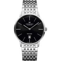 Hamilton AMERICAN CLASSIC經典機械腕錶-黑x銀/42mm H38755131