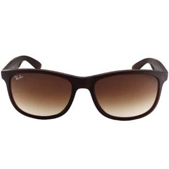 【Ray Ban 雷朋】4202F-607313-57 亞洲加高鼻墊款太陽眼鏡/墨鏡(#霧棕-棕鏡面)