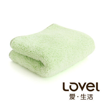 Lovel 全新升級第二代馬卡龍長絨毛纖維毛巾(青蘋綠)