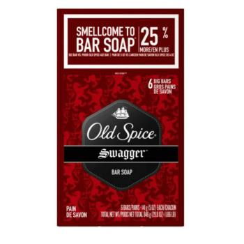 美國原裝Old Spice香水皂-swagger搖擺系列(5oz/141g)*2/組*6