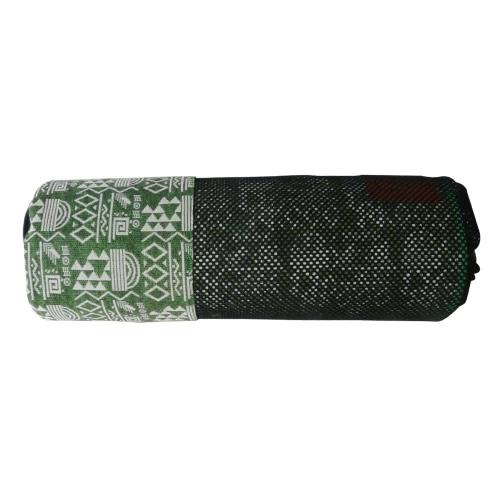 【Outdoorbase】漾彩防水桌布-綠色幾何 26015