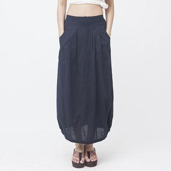 【I*MEI】水洗棉麻百搭套組(亞麻褲+長裙)(型)
