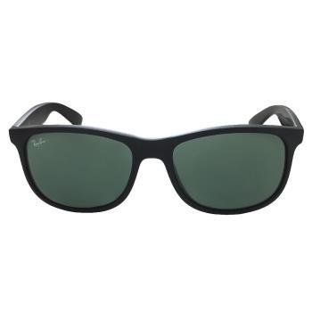 【Ray Ban 雷朋】RB4202F-6069/71_亞洲版太陽眼鏡(霧黑框#雷朋綠鏡)
