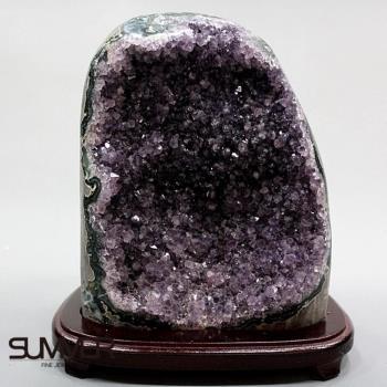 【SUMMER寶石】5A級烏拉圭紫晶鎮《4.4kg》(頂級深紫色 7B-99)