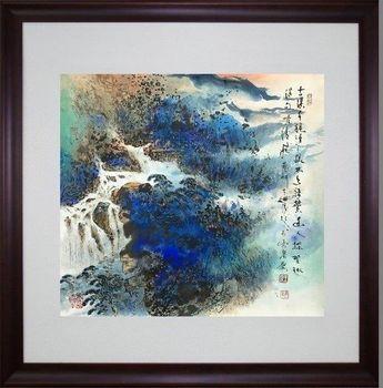 濤音大師王太田-風起雲湧(潑墨)
