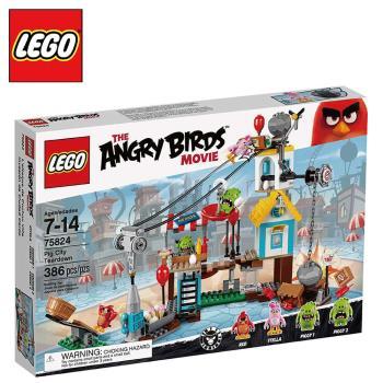 樂高【LEGO】Angry Birds系列 L75824 豬豬城鎮戰 Pig City Teardown