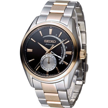 精工 SEIKO Presage 中央動力儲存顯示機械腕錶 4R57-00A0P SSA308J1