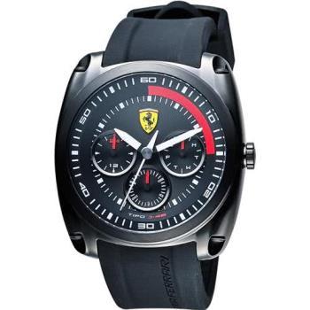 Scuderia Ferrari 法拉利 TIPO J-46日曆手錶-黑/46mm 0830320