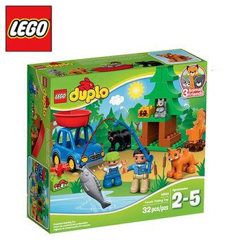 樂高【LEGO】得寶系列 L10583 森林釣魚之旅