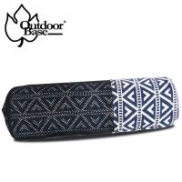 【Outdoorbase】漾彩防水桌布-藍色三角 OB26022 露營 野餐墊 餐桌巾 地墊