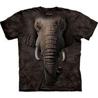 【摩達客】(預購)(男/女童裝)美國進口The Mountain 象臉 純棉環保短袖T恤