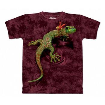 【摩達客】(預購)(男/女童裝)美國進口The Mountain 和平壁虎 純棉環保短袖T恤