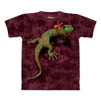 【摩達客】(預購)美國進口The Mountain 和平壁虎 純棉環保短袖T恤