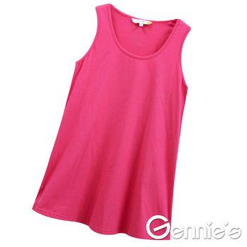 【Gennie's奇妮】小天使素面春夏孕婦背心上衣(G3125)