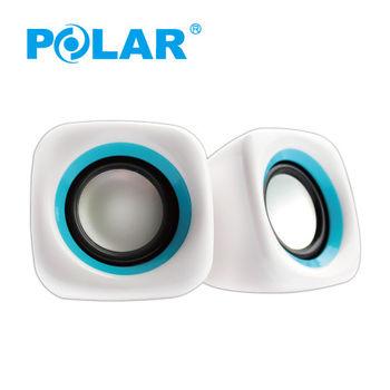 【福利品】外包裝不良POLAR - USB 喇叭 PS-2092