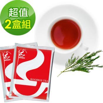 【樸優樂活】有機路易波斯紅茶/綠茶(20包/盒)(南非國寶茶)*2盒組